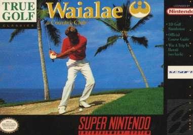 Waialae Country Club - SNES - Used