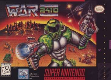War 2410 - SNES - Used