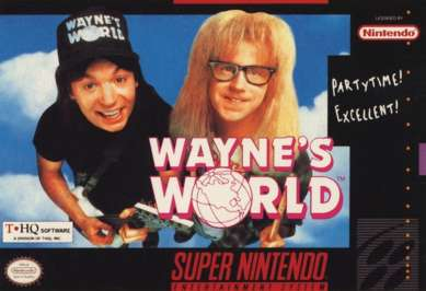 Wayne's World - SNES - Used