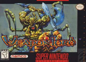 WeaponLord - SNES - Used