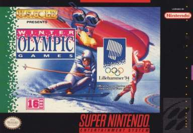 XVII Olympic Winter Games Lillehammer 1994 - SNES - Used