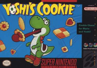 Yoshi's Cookie - SNES - Used