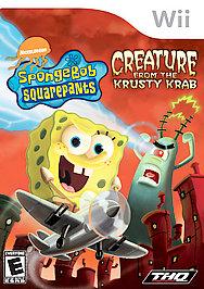 SpongeBob SquarePants: Creature from the Krusty Krab - Wii - Used