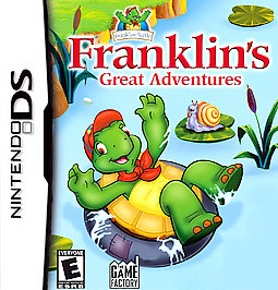 Franklin's Great Adventures - DS - Used