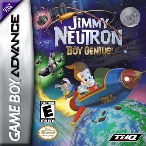 Adventures of Jimmy Neutron, Boy Genius: Jimmy Neutron Vs. Jimmy Negatron - GBA - Used