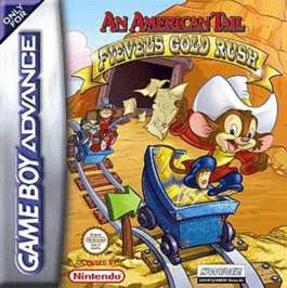 American Tail: Fievel's Gold Rush - GBA - Used