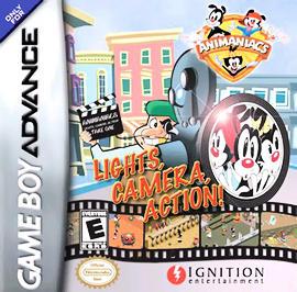 Animaniacs: Lights, Camera, Action! - GBA - Used