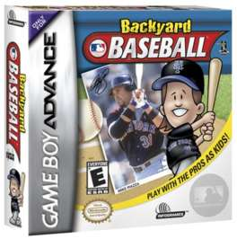 Backyard Baseball - GBA - Used