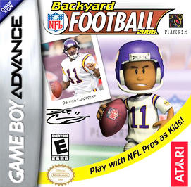 Backyard Football 2006 - GBA - Used