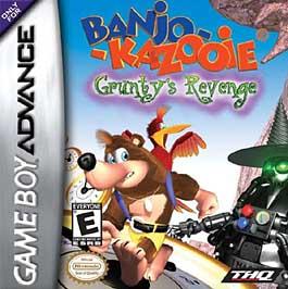 Banjo-Kazooie: Grunty's Revenge - GBA - Used