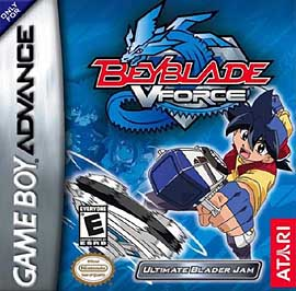 Beyblade VForce: Ultimate Blader Jam - GBA - Used