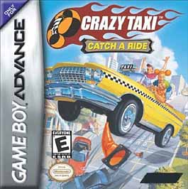 Crazy Taxi: Catch a Ride - GBA - Used