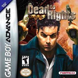 Dead to Rights - GBA - Used