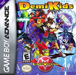 DemiKids: Light Version - GBA - Used