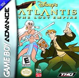Disney's Atlantis: The Lost Empire - GBA - Used