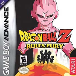 Dragon Ball Z: Buu's Fury - GBA - Used