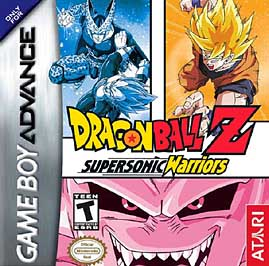 Dragon Ball Z: Supersonic Warriors - GBA - Used