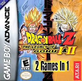 Dragon Ball Z: The Legacy of Goku I & II - GBA - Used