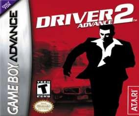 Driver 2 Advance - GBA - Used