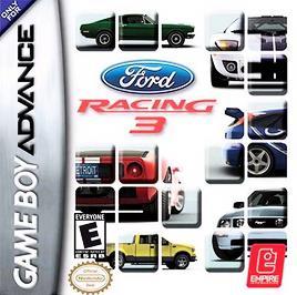 Ford Racing 3 - GBA - Used