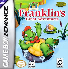 Franklin's Great Adventures - GBA - Used