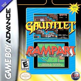 Gauntlet / Rampart - GBA - Used