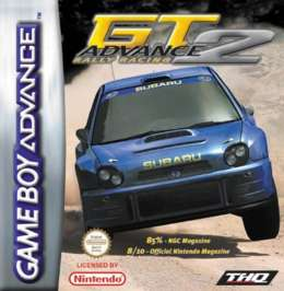 GT Advance 2 Rally Racing - GBA - Used