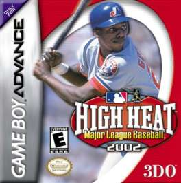 High Heat Major League Baseball 2002 - GBA - Used