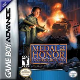 Medal of Honor Underground - GBA - Used