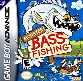 Monster Bass Fishing - GBA - Used