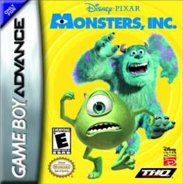 Monsters, Inc. - GBA - Used