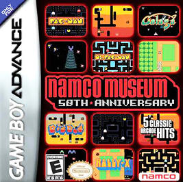 Namco Museum: 50th Anniversary - GBA - Used