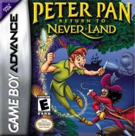 Peter Pan: Return to Neverland - GBA - Used