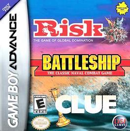 Risk / Battleship / Clue - GBA - Used
