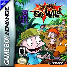Rugrats Go Wild - GBA - Used