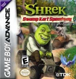 Shrek Swamp Kart Speedway - GBA - Used