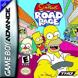 Simpsons Road Rage - GBA - Used