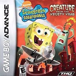 SpongeBob SquarePants: Creature from the Krusty Krab - GBA - Used