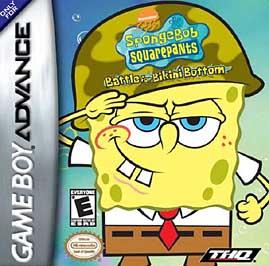 SpongeBob SquarePants: The Battle For Bikini Bottom - GBA - Used