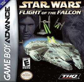 Star Wars: Flight of the Falcon - GBA - Used