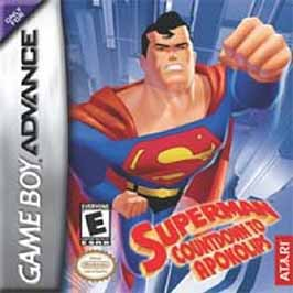 Superman: Countdown to Apokolips - GBA - Used