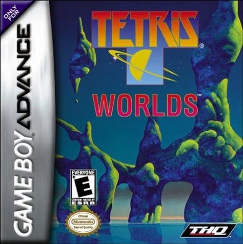 Tetris Worlds - GBA - Used
