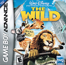 Walt Disney Pictures Presents The Wild - GBA - Used