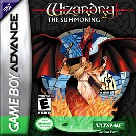 Wizardry: The Summoning - GBA - Used
