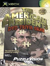 American Presidents, DVD Trivia Game - XBOX - Used