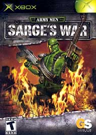 Army Men: Sarge's War - XBOX - Used