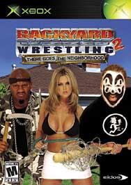 Backyard Wrestling 2: There Goes the Neighborhood - XBOX - Used
