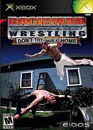 Backyard Wrestling: Don't Try This At Home - XBOX - Used