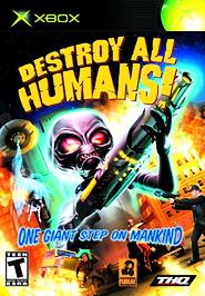 Destroy All Humans! - XBOX - Used