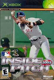 Inside Pitch 2003 - XBOX - Used